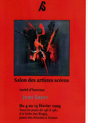 Salon Artistes Scéens 2009