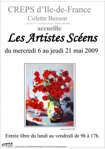 Affiche Salon du CREPS 2009