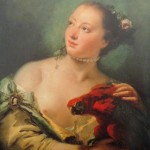 La jeune fille au perroquet de Tiepolo (1760)